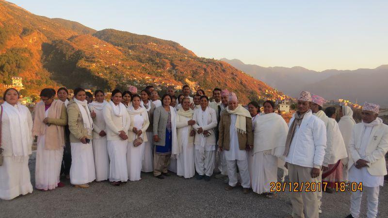 Brahmakumaris Rapti Zone brahmain Family at Rukum